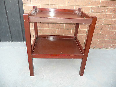 Vintage Tea Trolley or Drinks Trolley side table or use as bedside Table