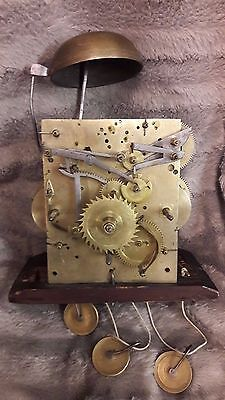 Interesting Antique Musical Longcase/grandfather Clock Movement-No Reserve!!!