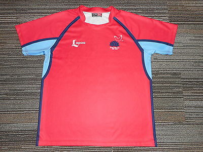 Tonga Nsw Players Slim Fit Rugby Jersey#5 Xxxl