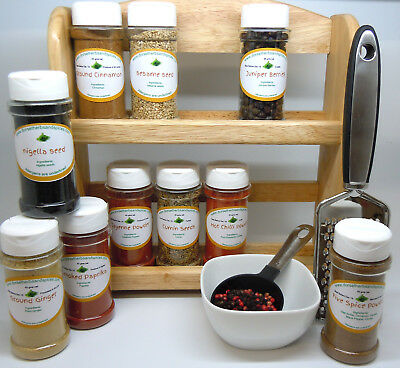 New Herbs and Spices Collections with free spice rack choice of 4 collections