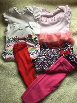 Pre-owned/6-9 Month/girls /Bundle Of Clothes/B3