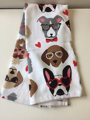 Boston Terrier Hand Or Dish Towel