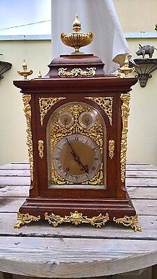 Magnificent, gigantic Winterhalder and Hofmeier boardroom clock. Circa 1890-1900