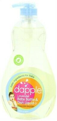 Baby Bottle & Dish Safe Liquid Dapple, Lavender, 16.9 Oz Liquid (Pack Of 3)