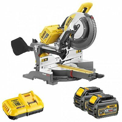 Dewalt Dhs780T2 54V Flexvolt 305Mm Mitre Saw With 2 X 6.0Ah Batteries