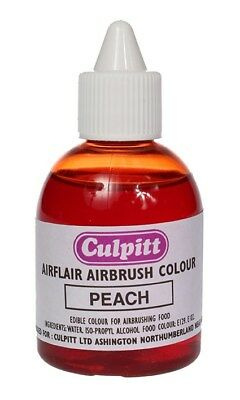 Culpitt PEACH/FLESH Edible Airbrush Spray Colour Icing Sugarpaste Decoration