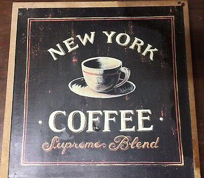 """Advertising Picture New York Coffee """"Supreme Blend"""""""
