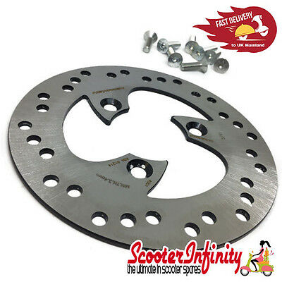 Brake Disc (190mm x 58mm, 3 Hole, Rear) (Aprilia, Piaggio, Yamaha Aerox, Yamaha)
