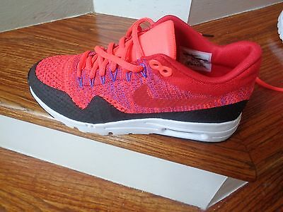 WMNS Nike Air Max 1 Ultra Flyknit Women's Running Shoes, 859517 600 Size 7 NEW