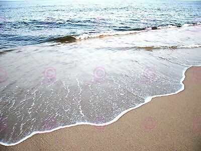 Photograph Seascape Beach Coast Sea Ocean Water Waves Art Print Poster Mp3526A