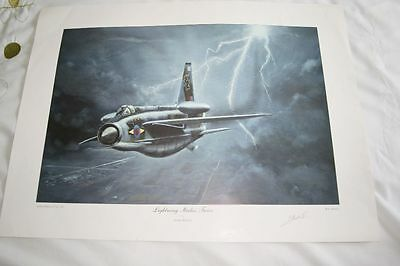 Limited Edition print by Keith Watson `Lightning Strikes Twice`