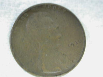 1926-S U.S Lincoln Wheat Cent Type Good