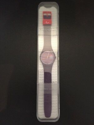 BNIB London 2012 Paralympics SWATCH watch - Games maker RARE!!