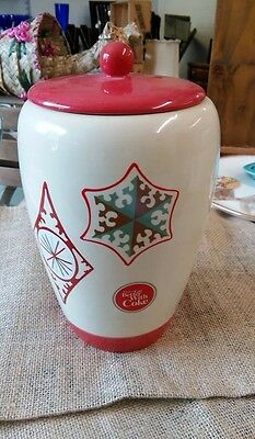 Coca cola Christmas cookie jar