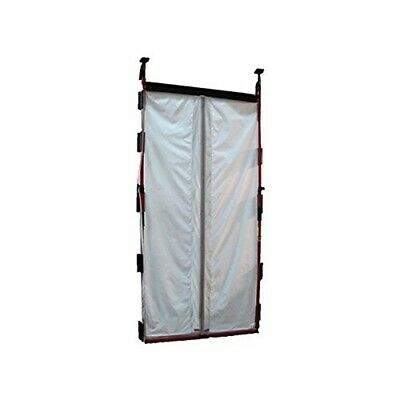 """FastCap 02091 3rd Hand 48"""" Magnetic Dust Barrier Door System, 18-Pieces"""
