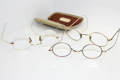 Antique Gold Filled Spectacles ? ?7.95 - PicClick UK
