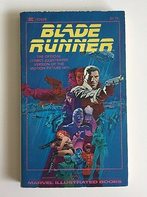 Blade Runner Marvel Illustrated Adaptation in paperback, 1982, first edition