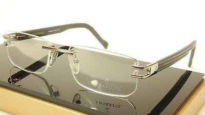 New Authentic Charriol PC7335A Eyeglasses Gray Metal / Plastic France Made Frame