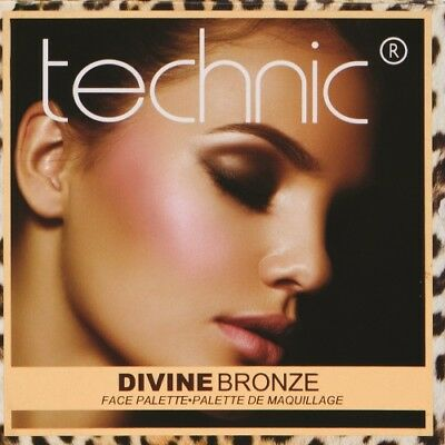 Technic Divine Bronze Contour Bronzing & Highlight Palette
