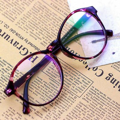 Hup Women Clear Transparent Optical Glasses Frame Eyeglasses With Clear Glass