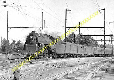 8x10 Photo of RDG Pacific #215 on Yorker train 601, Jenkinstown, PA.