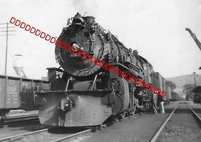 8x10 Photo of D&LW #1262, 2-8-2, on Syracuse bound freight at Cortland, N.Y.