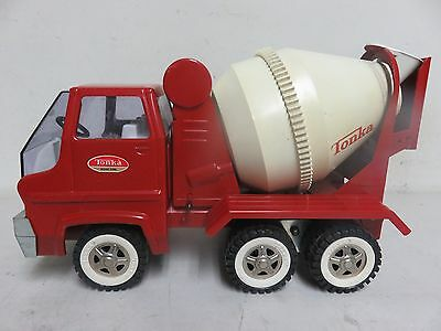 Vintage TONKA CEMENT MIXER TRUCK Pressed Steel Large Excellent Condition