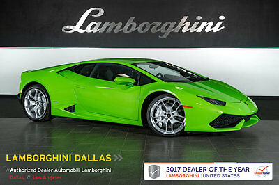 2015 Lamborghini Huracan LP610-4 Coupe 2-Door NAV+REAR VIEW CAMERA+TRANSPARENT ENGINE+FRONT LIFT+BRANDING+POWER/HEATED SEATS