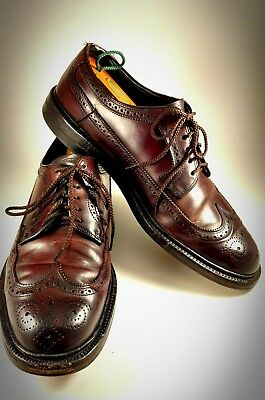Vintage Hanover LB Sheppard Longwing Oxford Shell Cordovan 9.5D