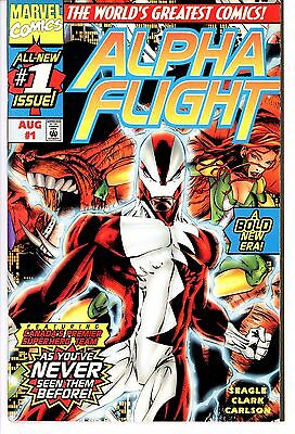 Alpha Flight  #1  * First Print *     Vf