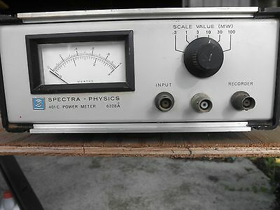 Spectra Physics 401C Laser Exciter Power Meter