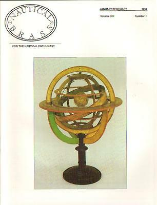 Nautical Brass: For the Nautical Enthusiast, Vol. XIII, No. 1-5, 1993