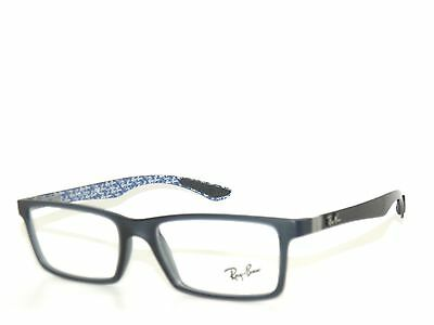 SALE* RAYBAN 8901 DEMI GLOSS BLUE-RB BLUE PATTERN 5262   EyeglasseS  RAY BAN 53