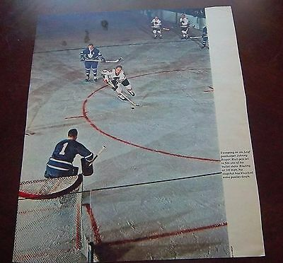Bobby Hull Star Weekly / Canadian Weekly / Weekend Magazine / Toronto