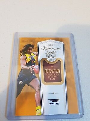 2017 Select Certified - Guernsey Redemption - Mgr18 - Nic Naitanui #051