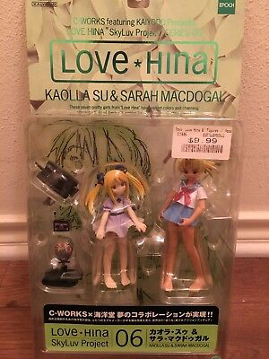 Love Hina 06 Kaolla Su & Sarah Macdogal SkyLuv Project C-WORKS