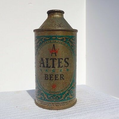 Altes Cone Top Beer Can