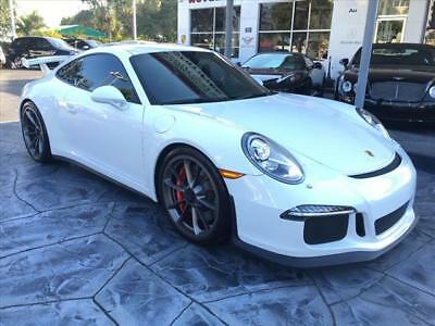 2014 Porsche 911 GT3 2014 Porsche 911 GT3 22113 Miles White GT3 2dr Coupe  7-Speed Double Clutch