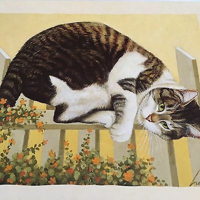 "LANG NOTE CARDS Lowell Herrero "" Little Pal Gilbert "" 15ct Cards Envel. Stickers"
