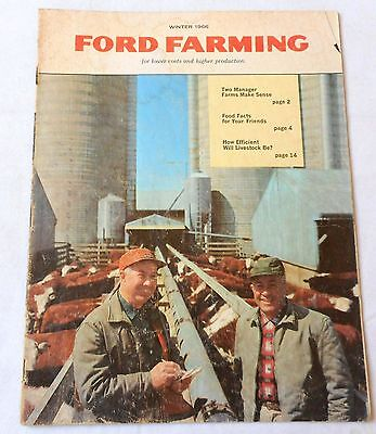 1966 Ford Farming Magazine