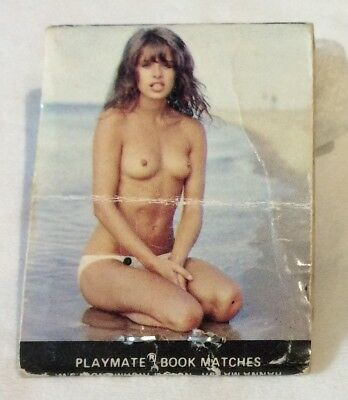 Nude Playmate Model Matchbook. Wheelhouse Nightclub. Front Striker Collectable.