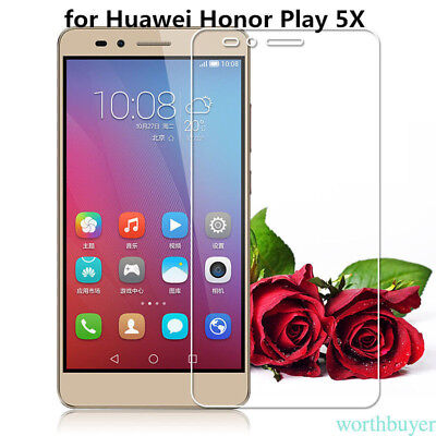 Screen Protector For Huawei Honor 5X Premium Tempered Glass protective QW5