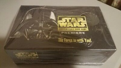 Star Wars Premiere Rare Unlimited Edition CCG English Sealed Booster Box