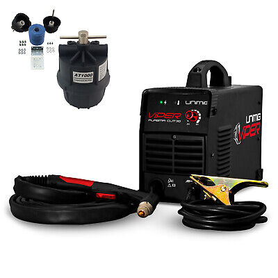 UNIMIG Viper Cut 40 Inverter Plasma Cutter -w/ Air filter + Consumable Kit Combo
