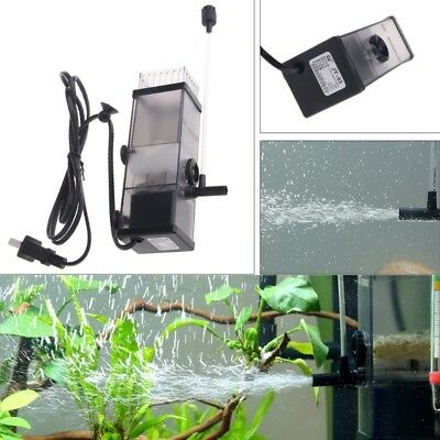 5W Oil Film Remover Protein Surface Water Skimmer Filter For Aquarium Fish Tank