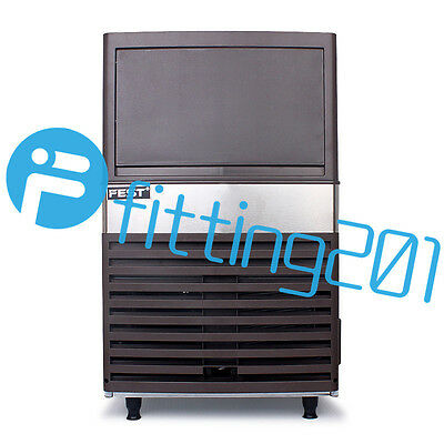 for Bar 220V Commercial Ice Maker Auto Clear Cube Ice Making Machine 55kg/24h