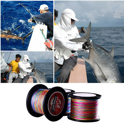 500M Super Strong PE Braid Sea Dyneema Spectra 12LB-72LB  Fishing Line