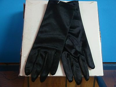Vintage black ladies gloves