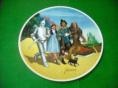 We're Off To See The Wizard!! #18177A Limited Edition!! Collectible Plate!!