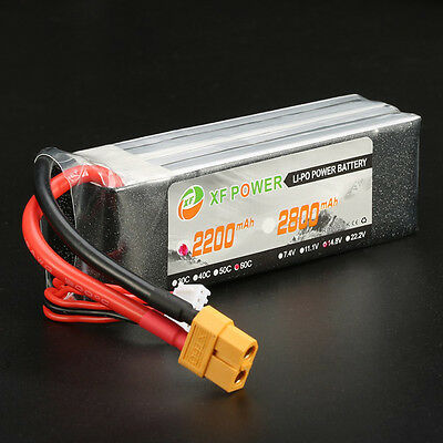 Xf Power 3.7V-14.8V 550Mah-2600Mah 1S-4S 25C-70C Lipo Batteria Jst/xt60/t Spina